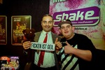 Shake Weihnachtsfeier mit Mr. Bean