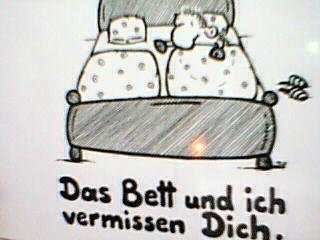 Lt Lt Mein Bett Und Ich Vermissen Di Members Group
