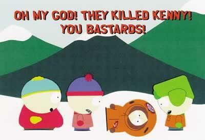 Scheisse Sie Haben Kenny Getötet Gruppestatistik