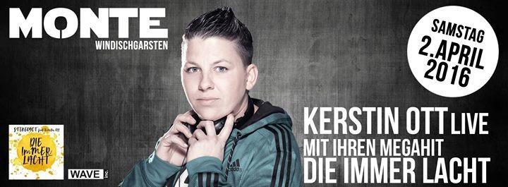 Die Immer Lacht Kerstin Ott Live 02042016 Monte