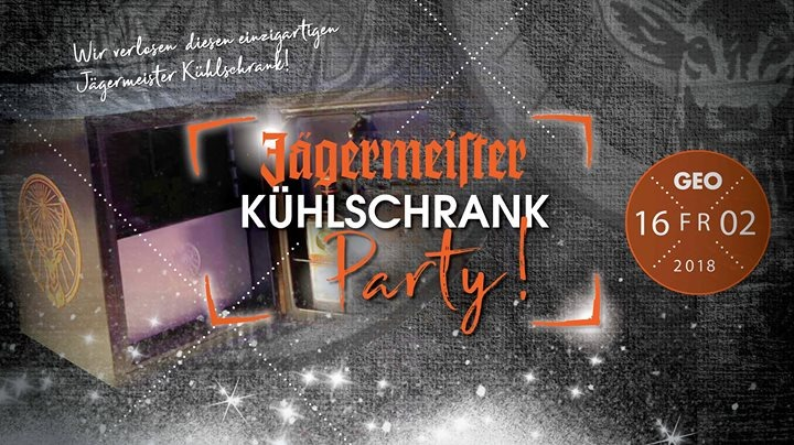 Kühlschrank Jägermeister : Jägermeister kühlschrank party geo