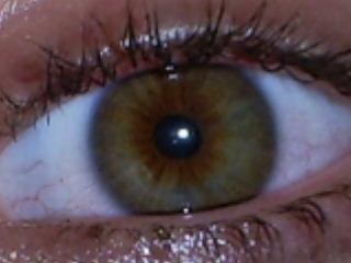 Braune Augen Werden Grün