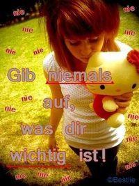 Gruppenavatar von ~ giB ŊĮĒMĄĻŞ auF, wAs diR wiChtig isT! ~