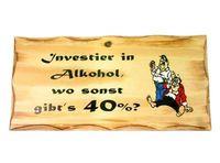 Gruppenavatar von investiert in Alkohol mehr % bekommst du nirgends