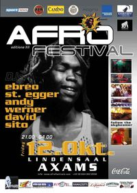 Afro Festivals no.12@Lindensaal