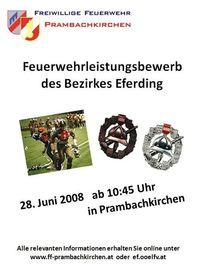 Feuerwehr Bezirksbewerb, Bez. Eferding@Sportplatz Prambachkirchen