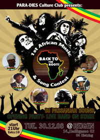 Back To The Roots 1st African Music & Song Contest