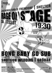Rage on Stage@Shelter-Gwölb