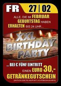 XXL Birthday Party@Ballegro