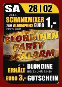 Blondinen Party Alarm@Ballegro