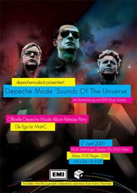 Offizielle Depeche Mode Releaseparty !