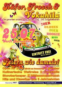 Käfer, Frosch & Vokuhila@Werfthalle