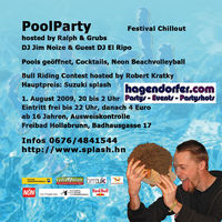 Poolparty Festival Chillout@Freibad Hollabrunn