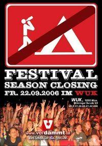 Festival Season Closing