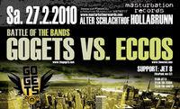 The Gogets vs. Eccos@Sporthalle