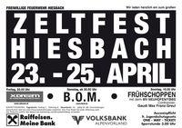Zeltfest Hiesbach@Festzelt Hiesbach