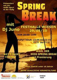 Spring Break@Festhalle Wiesen