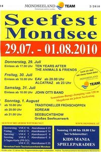 Seefest Mondsee@Almeidapark