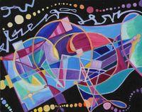 Dynamic-Orchestration - Soloausstellung des Künstlers Philip Noyed@Bashimi Art House