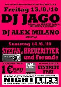 Kreuzritter´s Birthday Bash@Nightlife