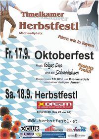 Herbstfestl mit Oktoberfest@Michaeliplatz (TIWI-Gelände)