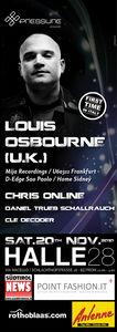 LOUIS OSBOURNE (UK) @ HALLE 28 - BOZEN (ab 22h)@Halle 28