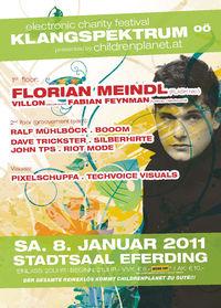 Klangspektrum OÖ - electronic charity festival@Stadtsaal