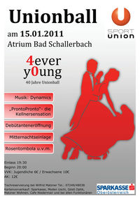 Unionball Bad Schallerbach 2011