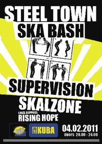 // SKA-BASH // Supervision + Skalzone + Rising Hope