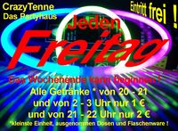 Die große Freitags  Chill in - Chill out Party@Tenne