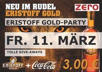 Eristoff Gold-Party