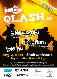 junQ.at Qlash // Release Party@Stadtwerkstatt