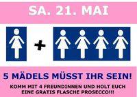 5 Mädels müsst ihr sein!