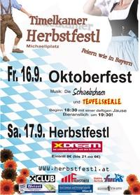 Herbstfestl mit Oktoberfest@Michaeliplatz