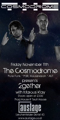 The Cosmodorme presents 2gether@Club Auslage