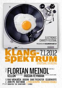Klangspektrum - electronic charity party pres. Florian Meindl@Stadtsaal