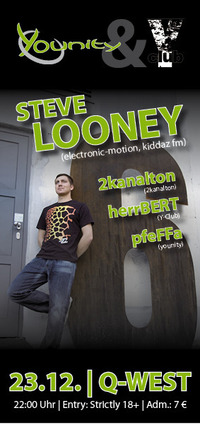 Y-Club / Younity pres.: Steve Looney (electronic-motion, kidazz fm)
