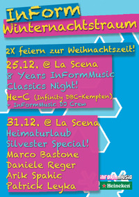"Heimaturlaub ""Silvester Special""@La Scena"
