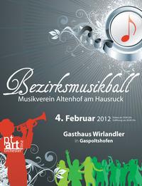 Bezirksmusikball MV Altenhof@Gasthaus Wirlandler