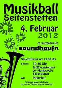 Musikball Seitenstetten 2012@Meierhof