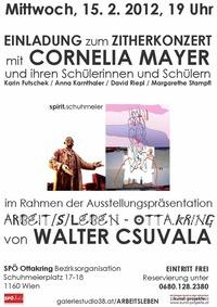 Walter Csuvalas interessante Ausstellung zu Franz Schuhmeier und Zithermusik nach Ottakringer Tradition @SPÖ Ottakring Bezirksorganisation