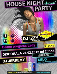 House night Party@Discohala