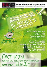 St. Patrick´s Weekend