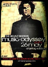 The Helmut Bergers Music Odyssey Party@Jetlag salzburg