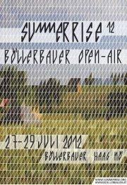 Summerrise-Böllerbauer Open-Air
