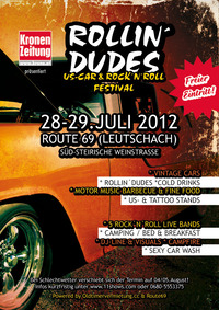 Rollin Dudes - US Car & Rock´n´Roll Festival@Route69