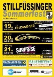 Stillfüssinger Sommerfest@Veranstaltungsgelände