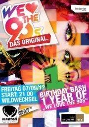 1 Year of  We Love The 90s - Das Original