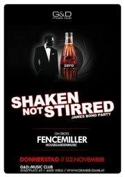 Shaken, Not Stirred - James Bond Party by Coke Zero