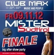 Mister Südtirol Finale 2012@Club Max